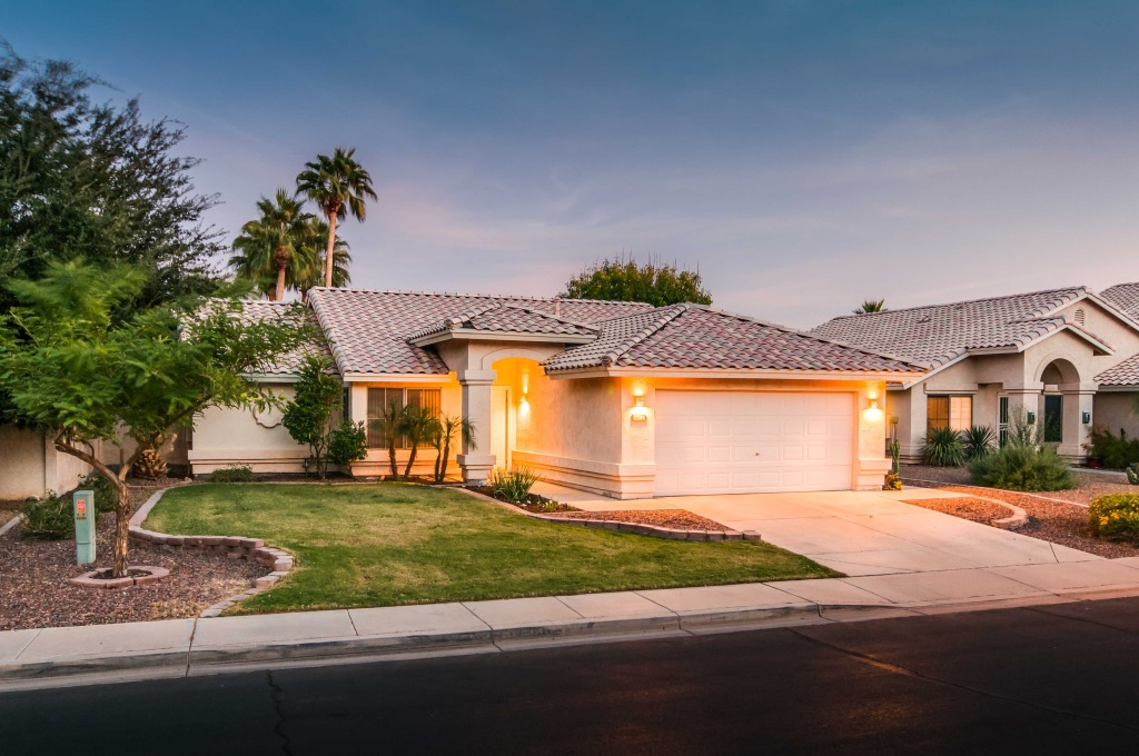 Twilight Real Estate Photography Chandler Arizona